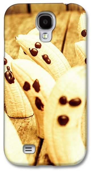 Halloween Banana Ghosts Galaxy S4 Case