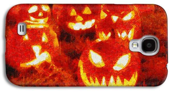 Halloween Friends - Pa Galaxy S4 Case