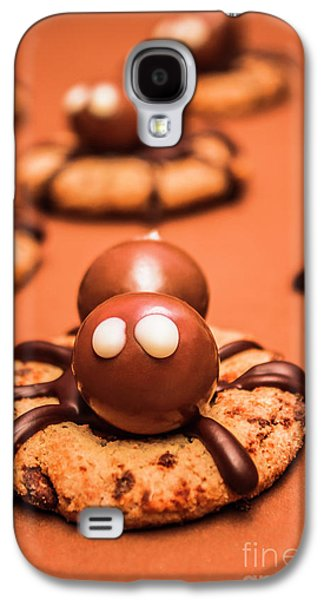Halloween Homemade Cookie Spiders Galaxy S4 Case