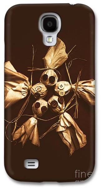 Halloween Horror Dolls On Dark Background Galaxy S4 Case by Jorgo Photography - Wall Art Gallery