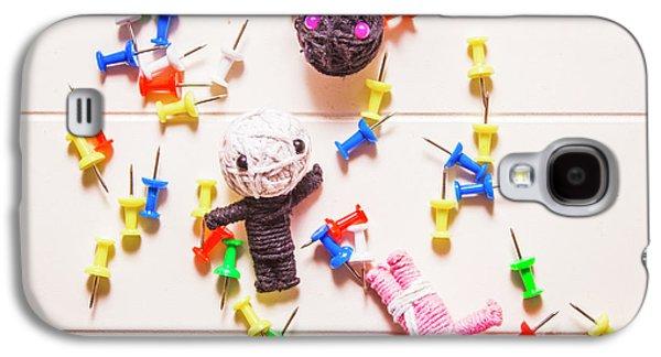 Halloween Monster Voodoo Dolls Galaxy S4 Case by Jorgo Photography - Wall Art Gallery
