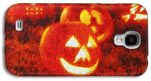 Halloween Night Best Friends - Pa Galaxy S4 Case