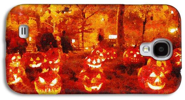 Halloween Night - Pa Galaxy S4 Case