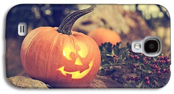 Halloween Pumpkin Galaxy S4 Case