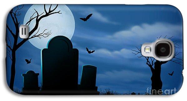 Halloween Spooks Galaxy S4 Case