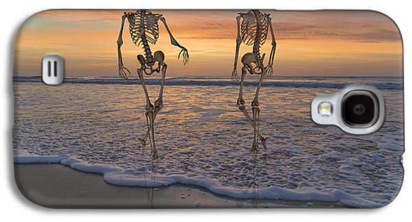 Halloween Stroll Galaxy S4 Case by Betsy Knapp