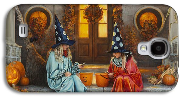Halloween Sweetness Galaxy S4 Case by Greg Olsen