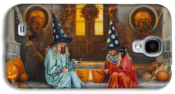 Halloween Sweetness Galaxy S4 Case by Greg Olsen