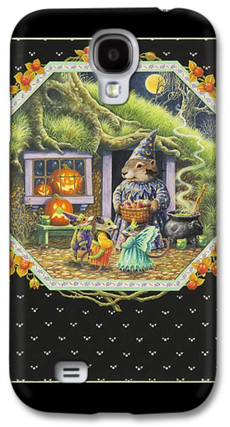 Halloween Treats Galaxy S4 Case by Lynn Bywaters