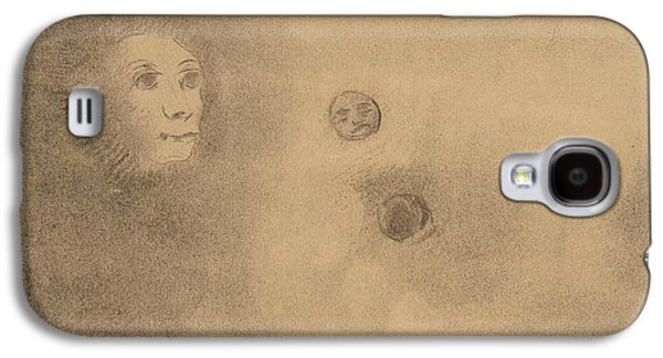 Hallucinations Galaxy S4 Case by Odilon Redon