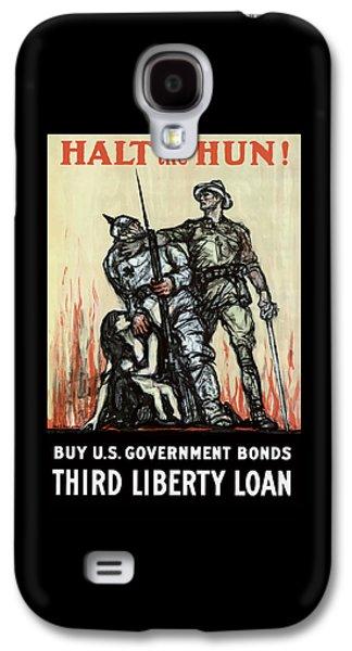 Halt The Hun - Ww1 Galaxy S4 Case by War Is Hell Store