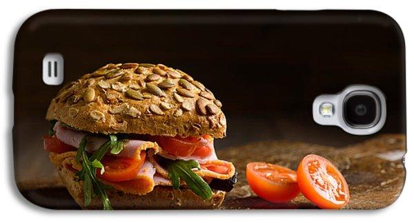 Lettuce Galaxy S4 Case - Ham Salad Roll by Amanda Elwell