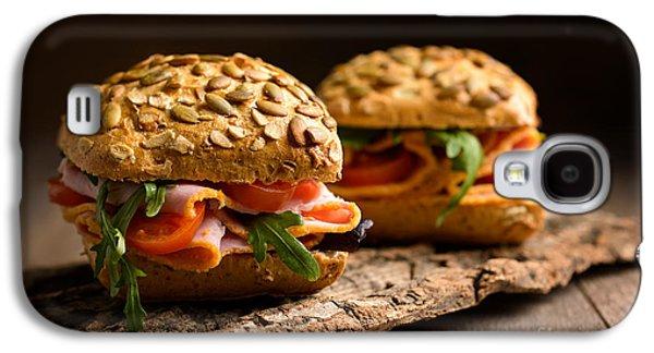 Lettuce Galaxy S4 Case - Ham Salad Rolls by Amanda Elwell