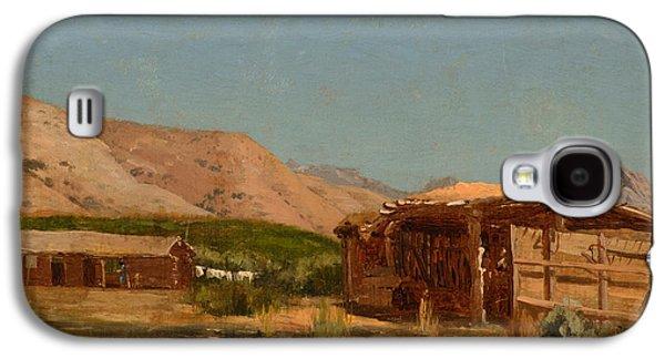 Hamilton's Ranch Nevada  Galaxy S4 Case by Celestial Images