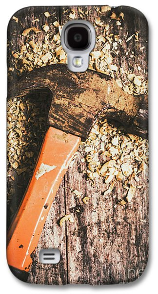 Hammer Details In Carpentry Galaxy S4 Case by Jorgo Photography - Wall Art Gallery