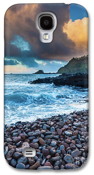 Hana Bay Pebble Beach Galaxy S4 Case by Inge Johnsson