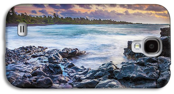 Hana Bay Rocky Shore #1 Galaxy S4 Case by Inge Johnsson