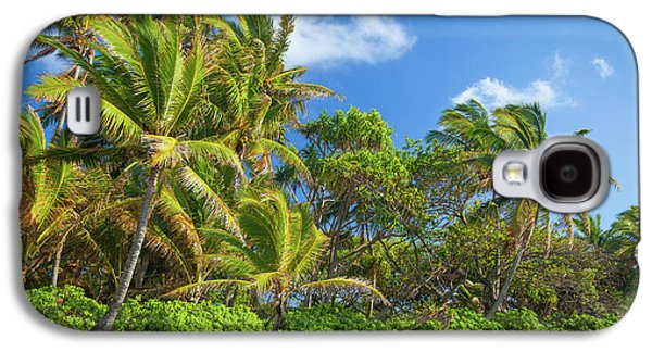 Hana Palm Tree Grove Galaxy S4 Case by Inge Johnsson