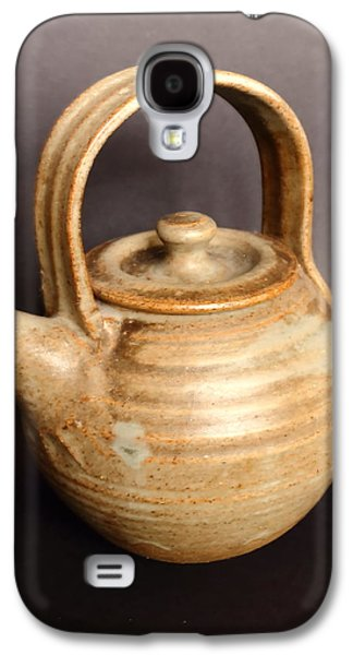 Hand Thrown Teapot Galaxy S4 Case by Jeff Townsend