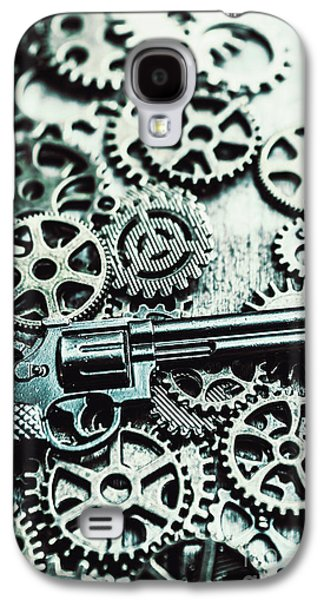 Handguns And Gears Galaxy S4 Case by Jorgo Photography - Wall Art Gallery