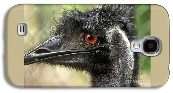 Emu Galaxy S4 Case - Handsome by Kaye Menner