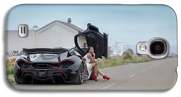 Hanging Out In A #mclaren #mso #p1 Galaxy S4 Case by ItzKirb Photography