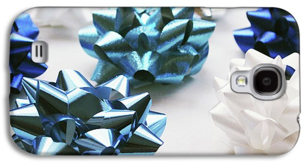 Hanukkah Bows- Photography By Linda Woods Galaxy S4 Case by Linda Woods