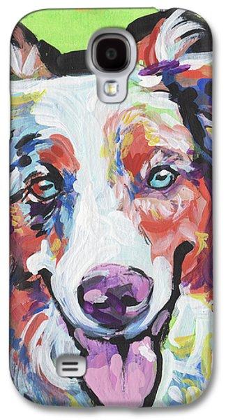Happy Aussie Galaxy S4 Case by Lea