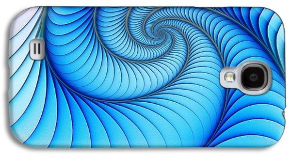 Happy Blue Galaxy S4 Case