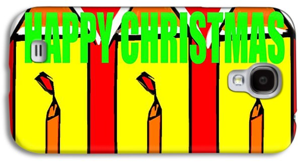 Happy Christmas 114 Galaxy S4 Case by Patrick J Murphy