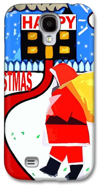 Happy Christmas 80 Galaxy S4 Case by Patrick J Murphy