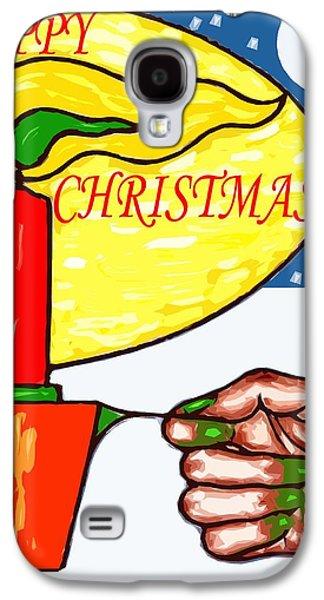 Happy Christmas 85 Galaxy S4 Case by Patrick J Murphy