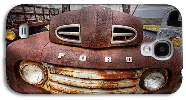 Happy Ford Galaxy S4 Case by Debra and Dave Vanderlaan