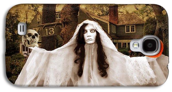 Happy Halloween Galaxy S4 Case by Jessica Jenney