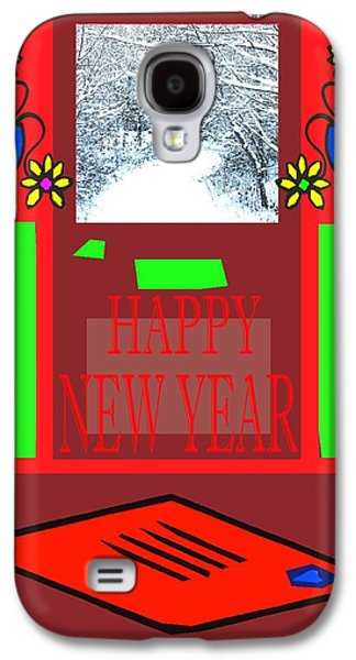 Happy New Year 97 Galaxy S4 Case by Patrick J Murphy