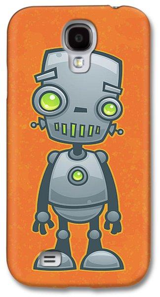 Happy Robot Galaxy S4 Case