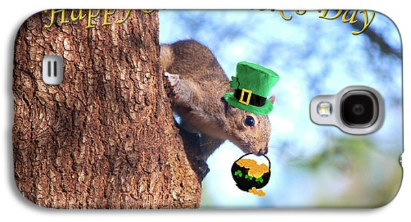 Happy St. Pat's Day Card Galaxy S4 Case by Adele Moscaritolo