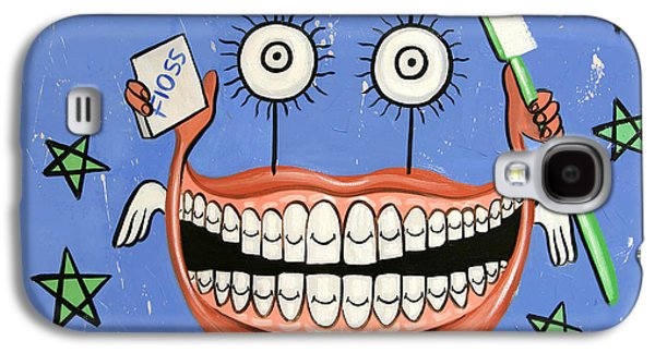 Happy Teeth Galaxy S4 Case