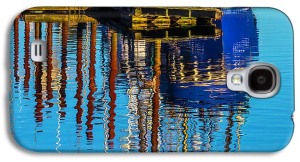 Harbor Reflections Galaxy S4 Case by Garry Gay