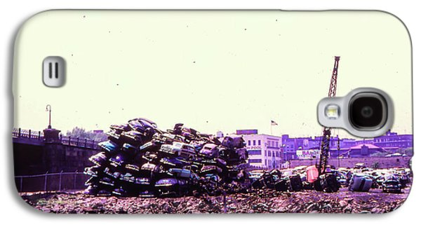 Harlem River Junkyard Galaxy S4 Case by Cole Thompson