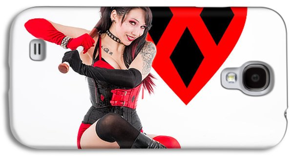 Harley Quinn Ready To Swing Galaxy S4 Case