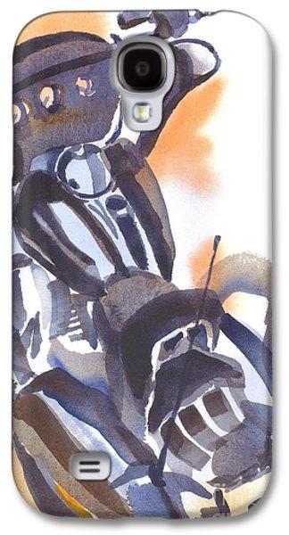 Motorcycle Iv Galaxy S4 Case by Kip DeVore