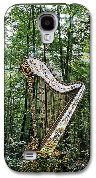 Harp In The Woods Galaxy S4 Case by Marvin Blaine