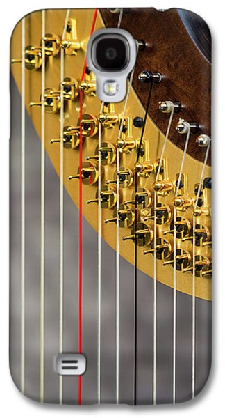 Harp Strings Galaxy S4 Case by Marco Oliveira