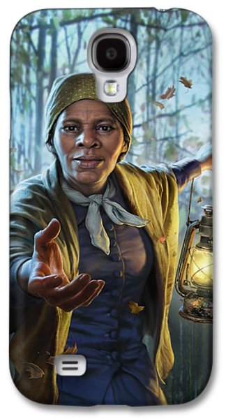 Train Galaxy S4 Case - Harriet Tubman by Mark Fredrickson