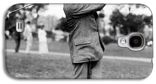 Harry Vardon - Golfer Galaxy S4 Case by International  Images
