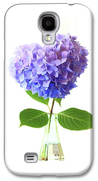 Hart Shape Hydrangea Galaxy S4 Case