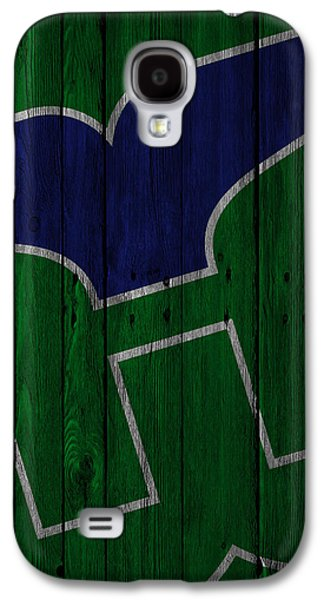 Hartford Whalers Wood Fence Galaxy S4 Case