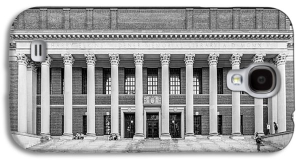 Widener Library At Harvard University Galaxy S4 Case by University Icons