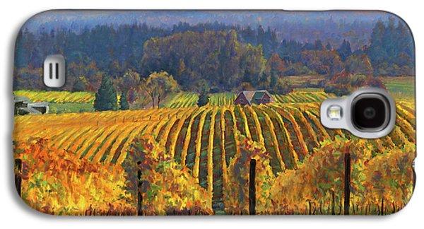 Harvest Gold Galaxy S4 Case by Michael Orwick
